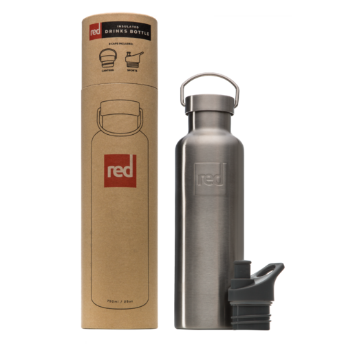 Red Original Insulated Drink Bottle - Doppelwandige Edelstahl Trinkflasche