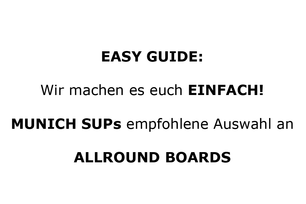 Easy Guide Allround (Familien) Boards
